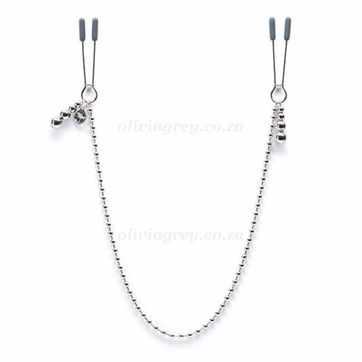 At Mercy Chained Nipple Clamps | Fifty Shades Darker