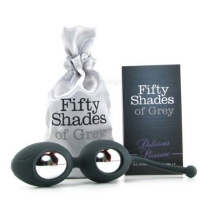 Ben Wa Balls Silicone Delicious Pleasure Box | Fifty Shades of Grey