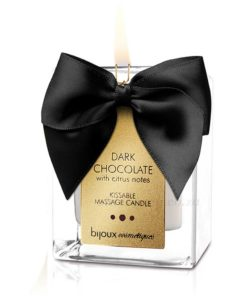 Dark Chocolate Massage Candle | Bijoux