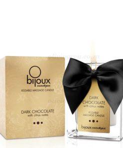 Dark Chocolate Massage Candle Box   Bijoux