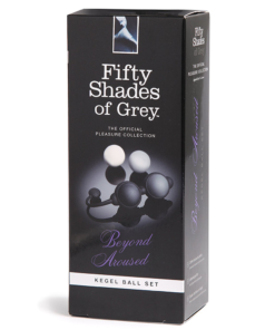 Beyond Aroused Kegel Balls Box | Fifty Shades of Grey