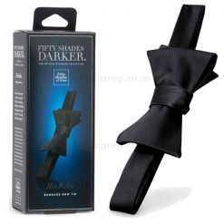 His Rules Bondage Bow Tie   Fifty Shades Darker