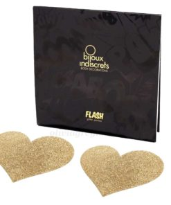 Flash Heart Gold Box | Bijoux