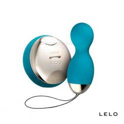 Hula Vibrating & Rotating Ben Wa Balls with Remote Control Lelo Ocean Blue