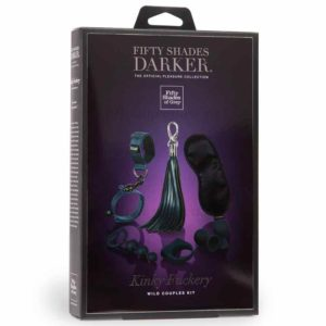 Kinky Fuckery Wild Couples Kit Box | Fifty Shades Darker