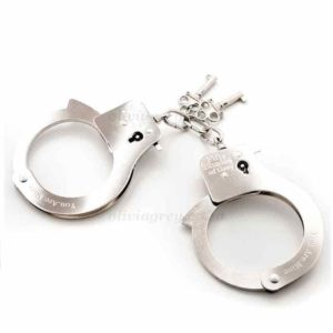 Metal Handcuffs You Are Mine | Fifty Shades of Grey