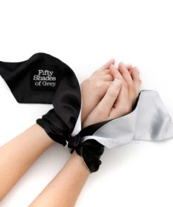 Satin Restraint Wrist Tie Soft Limits | Fifty Shades of Grey
