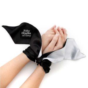 Satin Restraint Wrist Tie Soft Limits | Fifty Shades of Grey
