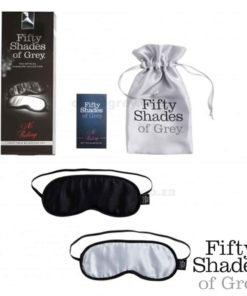 Soft Blindfold Twin Pack No Peeking Box | Fifty Shades of Grey