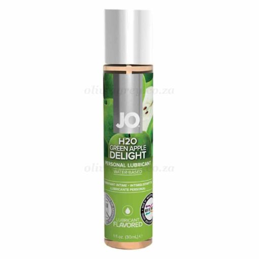 System Jo H2O Flavoured Lubricants 30ml Green Apple