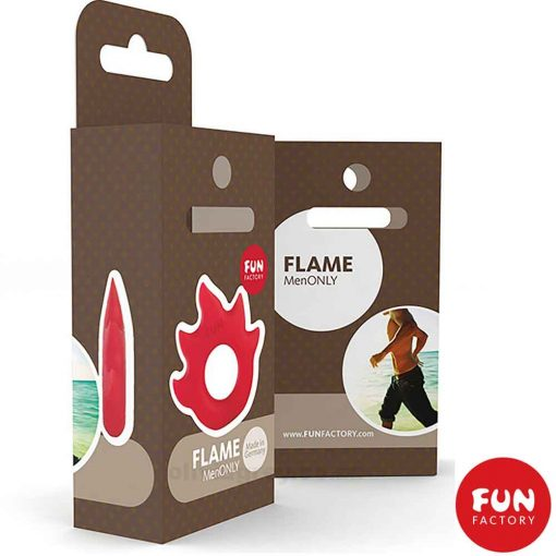 Lovering Flame Cock Ring Box