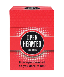 Open Hearted Sex Talk Game Box | Moodzz