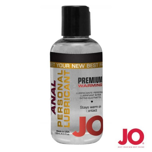 Premium Silicone Anal Warming Lubricant 135ml | System Jo