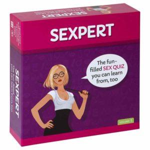 Sexpert Adult Board Game Box   Moodzz