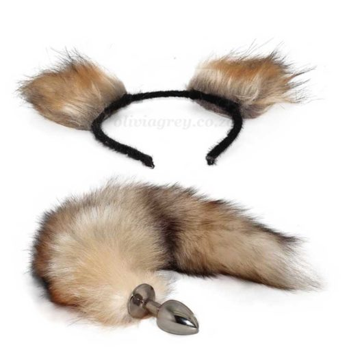 Fox Tail Butt Plus With Ears
