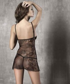 Innocence Black Chemise Back | Anais