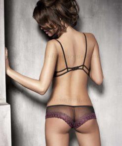 Simone B&V Black lingerie Set Back | Anais