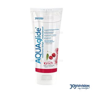 Aquaglide Water-Based Cherry Flavoured Lubricant - 100ml | Joy Division