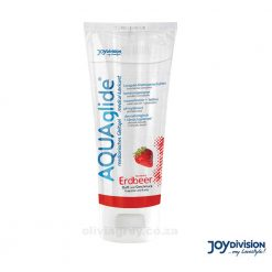 Aquaglide Water Based Flavoured Lubricant Strawberry