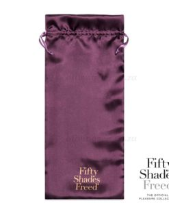 Fifty Shades Freed Awash with Sensation Vibrator Bag