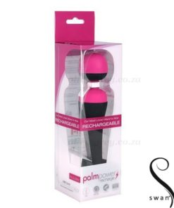 PalmPower Recharge Personal Massager Boxed | Swan