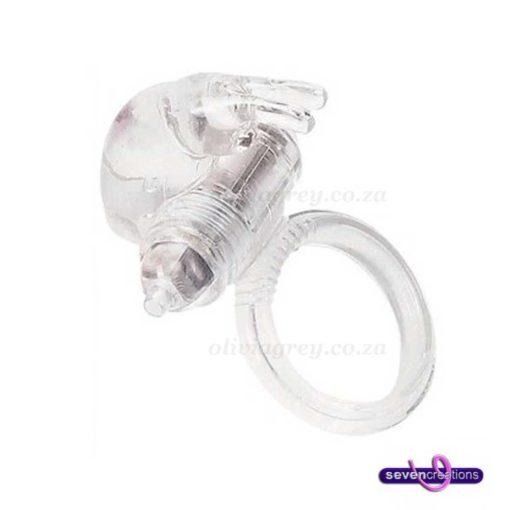 Ultra-Soft Vibrating Rabbit Cock Ring