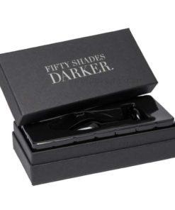Something Darker Glass Pleasure Plug Case | Fifty Shades Darker