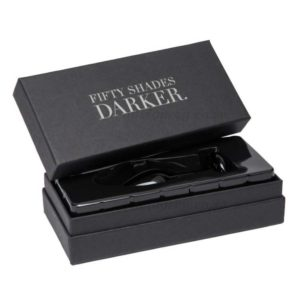 Something Darker Glass Pleasure Plug Case | Fifty Shades Darker