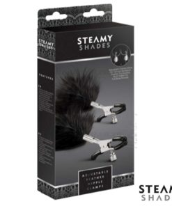 Adjustable Feather Nipple Clamps Box | Steamy Shades
