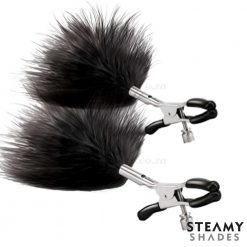 Adjustable Feather Nipple Clamps | Steamy Shades