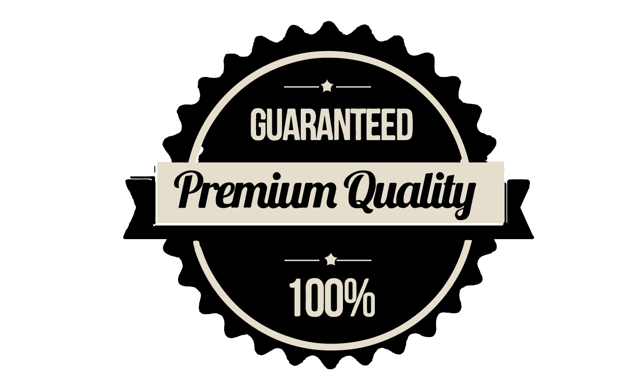 WE BELIEVE IN QUALITY