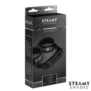 Control Cuffs with Handle Box | Steamy Shades