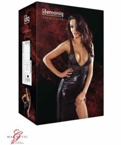 Jacqueline Black Dress Box | Demoniq