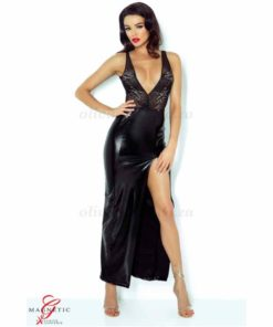 Jacqueline Black Dress Front   Demoniq