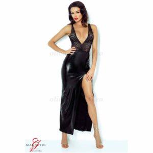 Jacqueline Black Dress Front | Demoniq