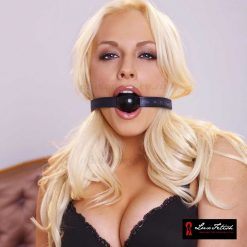 Silicone Ball Gag On Lux Fetish