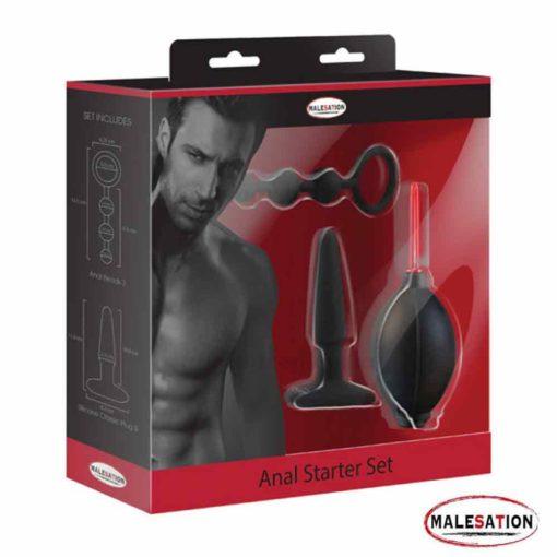 3 Peice Anal Starter Kit   Malesation
