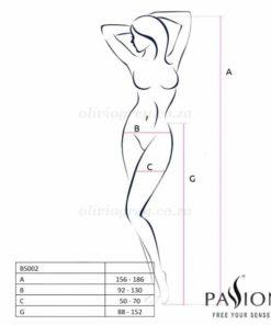 Addie Garter Stockings Size   Passion