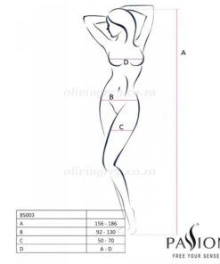 Alyce Bodystocking Size | Passion Lingerie