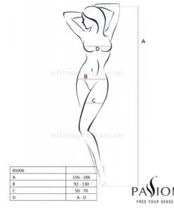 Annabelle Bodystocking Size | Passion Lingerie