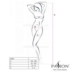 Dominica Bodystocking Size | Passion Lingerie