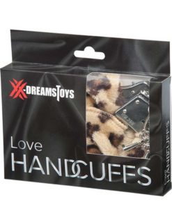 Fluffy Love Hand Cuffs Leopard | XDreamToys