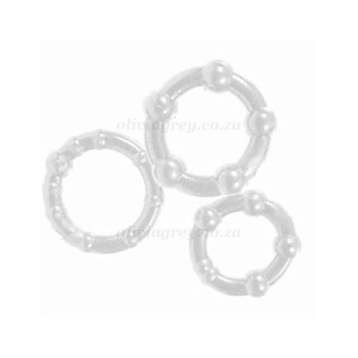 Get Hard 3pc Cock Ring Set | You 2 Toys