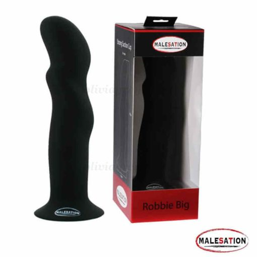 Robbie Dildo Large Black | MALESATION