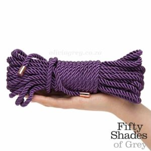 Want to Play Silk Bondage Rope Hand | Fifty Shades Freed