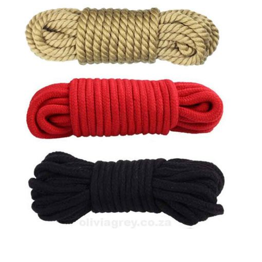 Cotton Bondage Rope Colours