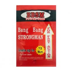 Bang Bang Strongman Erection Pills | BBSM Power Plus