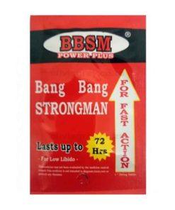 Bang Bang Strongman Erection Pills | BBSM Power Plus