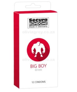 Big Boy Condoms 60mm | Secura
