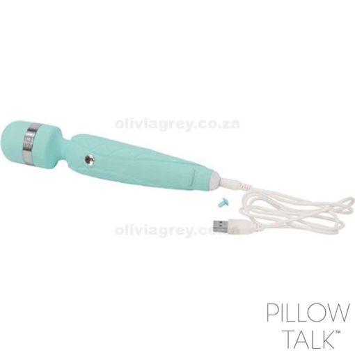 Cheeky Luxurious Wand Massager | Pillow Talk Charger
